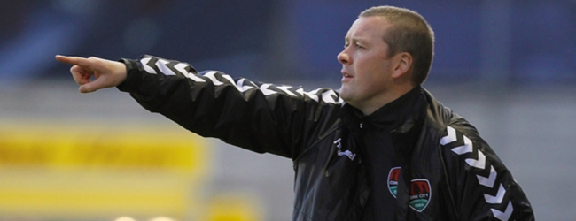 Cork City boss Tommy Dunne