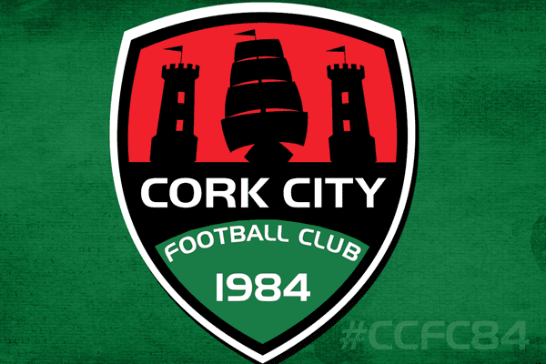 club crest and hashtag