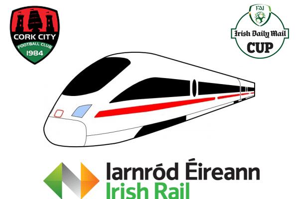 2015 FAI Cup Final Train