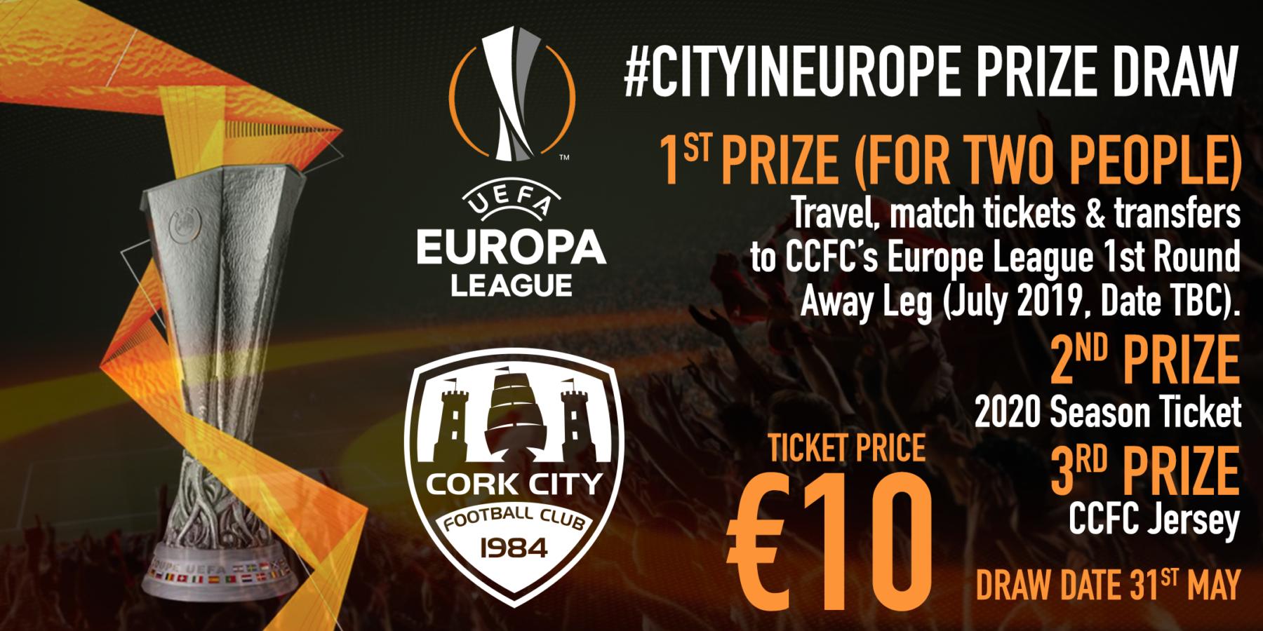 Two weeks left to enter! Win a trip to the Europa League!