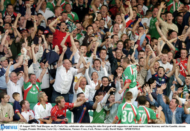 Cork City v Shelbourne Neal Horgan